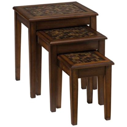Picture of JOFRAN INC. 698-7-BAROQUE-NESTING-TABLES