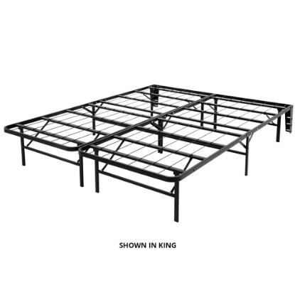 Picture of GLIDEWAY BED CARRIAGE MAN SPS14BLK-Q-QUEEN-PLATFORM-BED