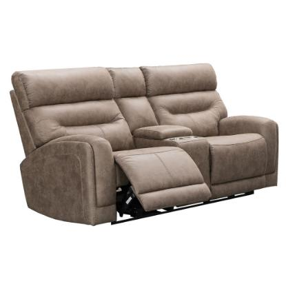 Picture of VOGUE HOME FURNISHINGS PX2020-02C-MUSHR-RECL-LOVESEAT