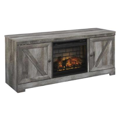 Picture of ASHLEY W440-68-TV-STAND-&-FIREPLACE