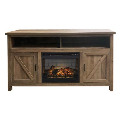 "Picture of CIELO MS65WWFP-65""-TVSTAND&FIREPLACE"