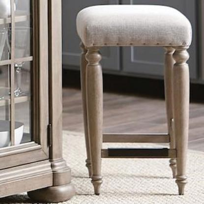 Picture of KLAUSSNER 750-924STOOL-COUNTER-STOOL-GRY