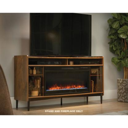 "Picture of SAUDER 422281-60""-TV-STAND+FIREPLACE"