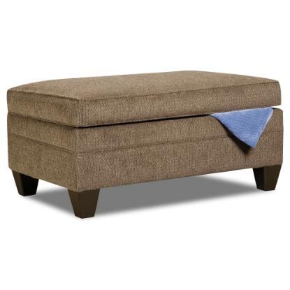Picture of LANE 6485-095-STRGE-OTTOMAN-TRUFFLE