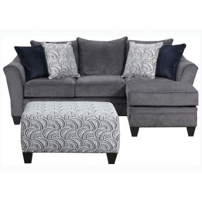 Picture of LANE 6485-03SC_SOFA/CHAISE-PEWTER
