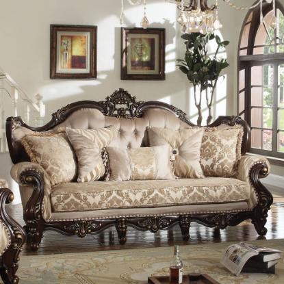 Picture of COSMOS FURNITURE INC JADE-TRADITIONAL-SOFA
