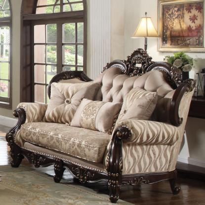 Picture of COSMOS FURNITURE INC JADE-TRADITIONAL-LOVESEAT