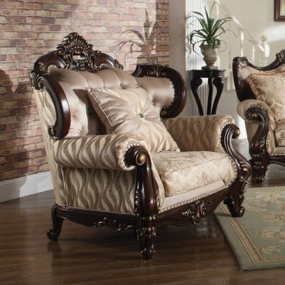 Picture of COSMOS FURNITURE INC JADE-TRADITIONAL-CHAIR