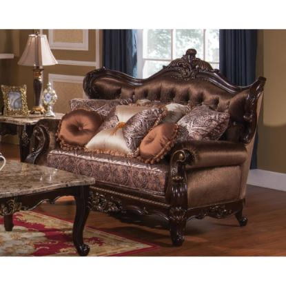 Picture of COSMOS FURNITURE INC AROMA-TRADITIONAL-LOVESEAT