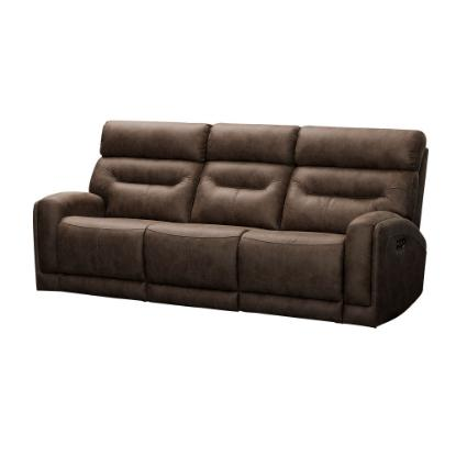 Picture of VOGUE HOME FURNISHINGS PX2020-03-CHOCO-RECLINING-SOFA
