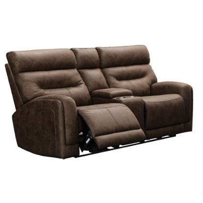 Picture of VOGUE HOME FURNISHINGS PX2020-02C-CHOCO-RECL-LOVESEAT
