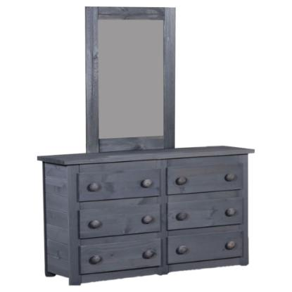 Picture of PINE CRAFTER FURNITURE WAL-4956-SIX-DRAWER-DRESSER