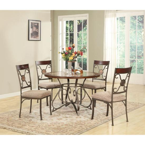 Lifestyle Enterprise Chaps 5pc Dining Table Package Abc Warehouse