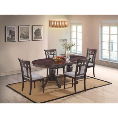 Picture of COSMOS FURNITURE INC LAKEWOOD-5PC-DINING-PACKAGE
