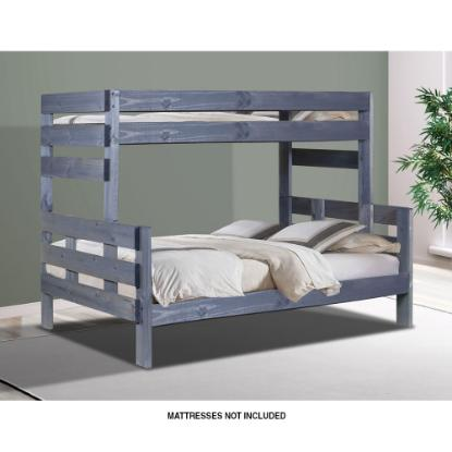 Picture of PINE CRAFTER FURNITURE PINECRAFT-TWIN/FULL-BUNK-BED