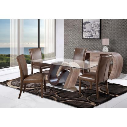 Picture of GLOBAL STEPHANIE-5PC-DINING-ROOM-PKG