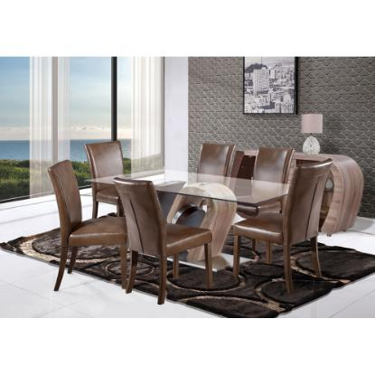 Picture of GLOBAL STEPHANIE-7PC-DINING-ROOM-PKG
