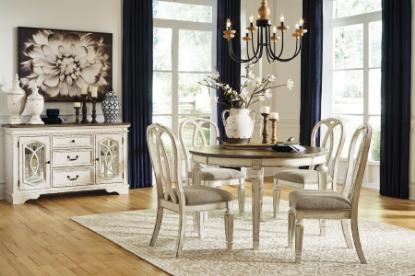 Picture of ASHLEY REALYN-5PC-DINING-PACKAGE