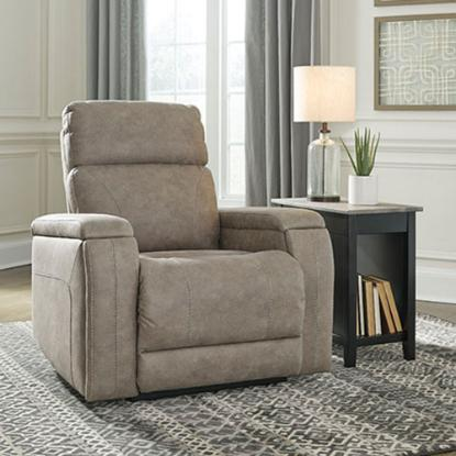 Picture of ASHLEY 5920313-THEATHER-CHAIR-FOG