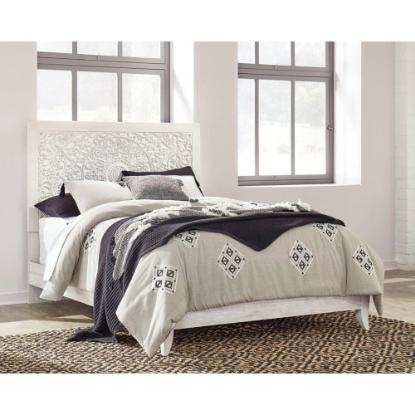 Picture of ASHLEY PAXBERRY-QUEEN-BED-WHITE-WASH