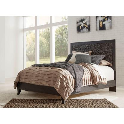 Picture of ASHLEY PAXBERRY-QUEEN-BED-CHARCOAL