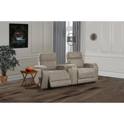 Picture of ASHLEY THEATER-CHAIR-2PC-PACKAGE-FOG