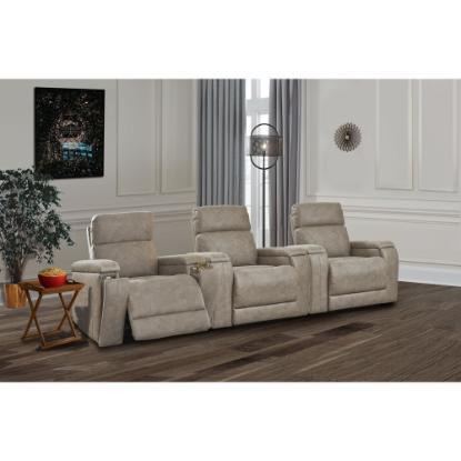 Picture of ASHLEY THEATHER-CHAIR-3PC-PACKAGE-FOG