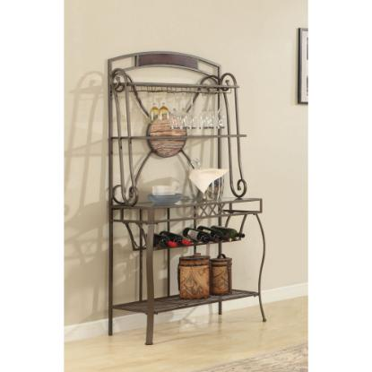 Picture of LIFESTYLE ENTERPRISE CDC067-DDH-BUFFET-W/WINE-RACK
