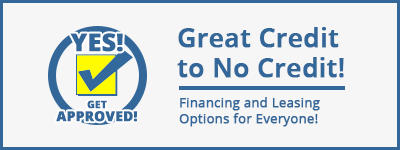 Financing and Leasing Options for Everyone!