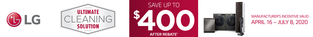 Save Up To $400 After Rebate
